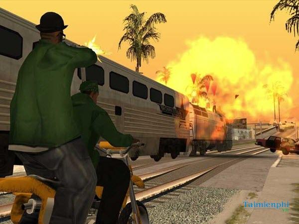 Mã GTA San Andreas, lệnh cướp đường phố game GTA San Andreas 2