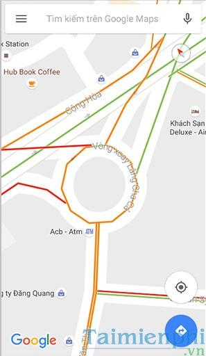 Tìm, tránh điểm tắc đường bằng Google Maps vào giờ cao điểm