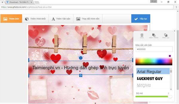 Ghép ảnh trực tuyến đẹp độc đáo 2021, không cần phần mềm