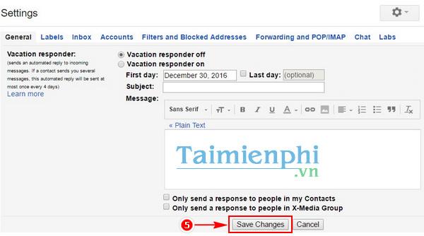 Cách đổi giao diện Gmail sang tiếng Việt, sử dụng giao diện tiếng Việt trên Gmail