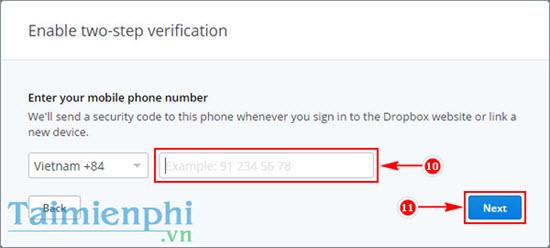 Tạo bảo mật hai lớp cho Dropbox, tăng cường bảo mật tài khoản Dropbox