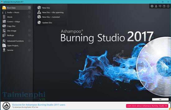 giveaway ashampoo burning studio 2017