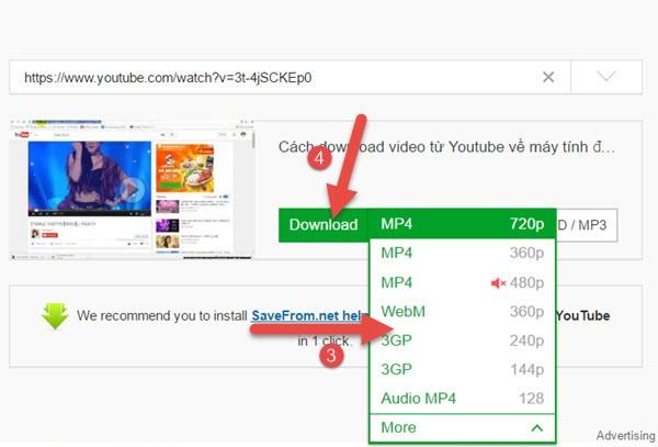 Cách tải Video Youtube về máy tính dùng và không dùng phần mềm hay nhất 12