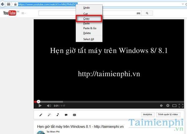 tải video youtube bằng phần mềm