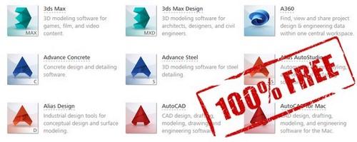 Giveaway) Bản quyền miễn phí 3 năm Fusion 360, AutoCAD, 3ds