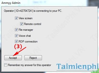 Ammyy Admin - Điều khiển máy tính từ xa dễ dàng, nhanh chóng