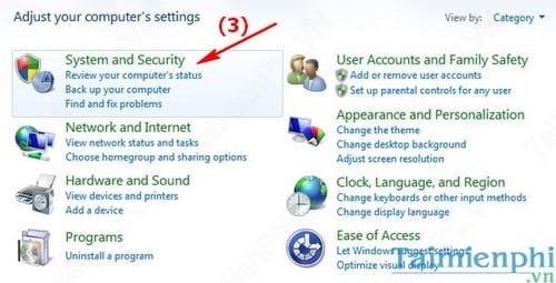 Cách bật, tắt tường lửa máy tính Windows, bật tắt Firewall 2