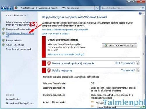 Cách bật, tắt tường lửa máy tính Windows, bật tắt Firewall 4