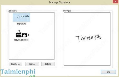 how to create a pdf signature