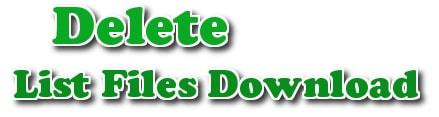Free Download Manager - Xóa danh sách file download