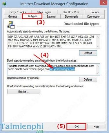 Khắc phục lỗi IDM tự động bắt link tải File st.html