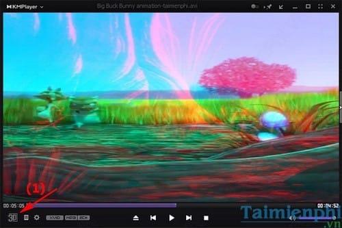 xem phim 3d tren KMPlayer