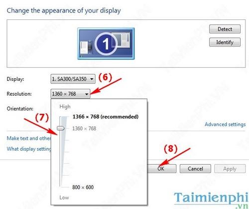 Cách đổi độ phân giải màn hình máy tính Windows 10, 8, 7, XP 11
