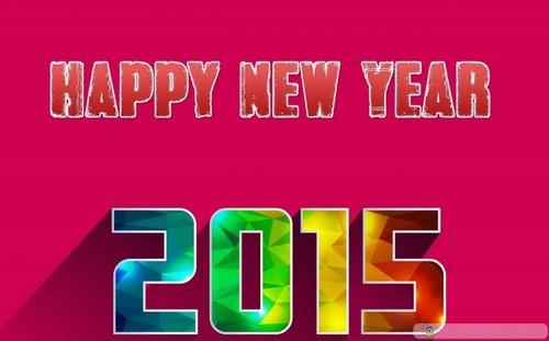 Bộ hình nền năm mới 2015 ấn tượng, độc đáo