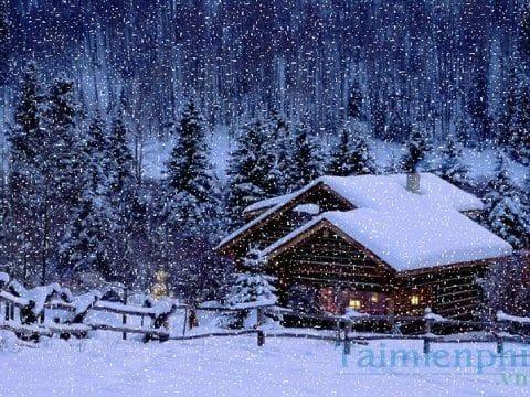 Tạo tuyết rơi trong Photoshop đẹp lung linh cho ảnh