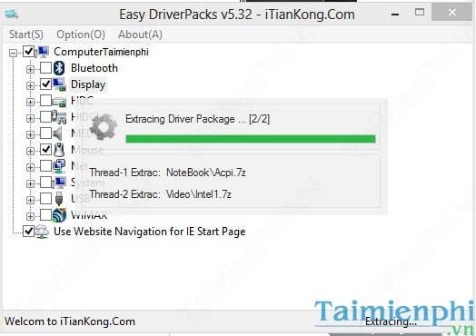 Pack easy .com.vn driver