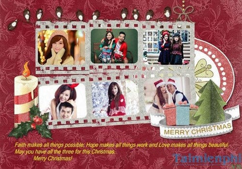 create christmas cards christmas is very nice and simple with