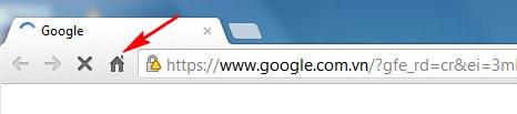 Web Freer - Hiển thị nút trang chủ trên trình duyệt