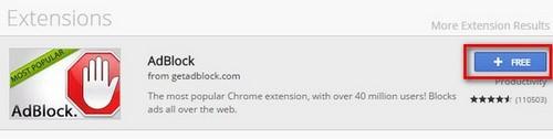 Adblock - Công cụ loại bỏ hoàn toàn quảng cáo trên trình duyệt, duyệt web nhanh hơn