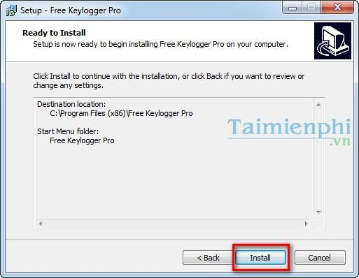 free keylogger pro how to open