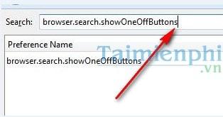 Cách khôi phục công cụ tìm kiếm trên Firefox về các phiên bản cũ hơn