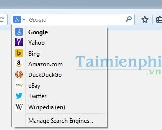 how to change search engine on firefox app