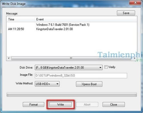 UltraISO - create USB install Windows 10, 8.1, 7