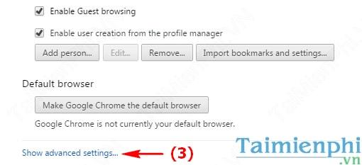 Bật/tắt Javascript trên trình duyệt Google Chrome
