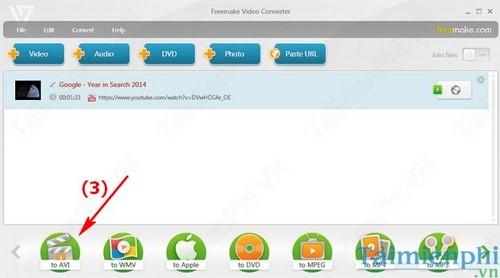 Download Video Youtube đơn giản với Freemake Video Converter