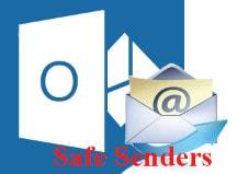 Thêm địa chỉ Email vào danh sách Safe Senders trên Outlook 2013