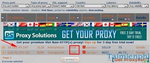 Idm Proxy List