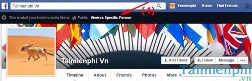 Xem dòng thời gian Facebook của bạn dưới góc nhìn của người khác