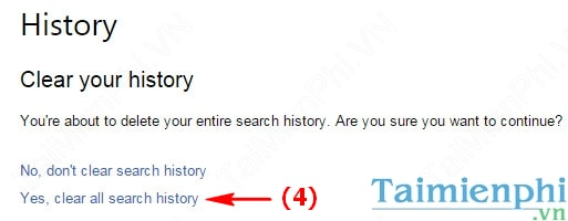 Clear History Search Engine Bing