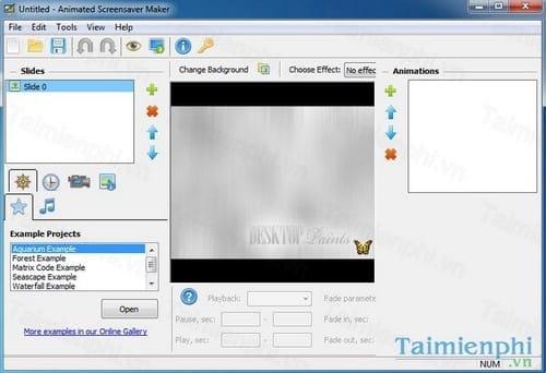 giveaway animated screensaver maker