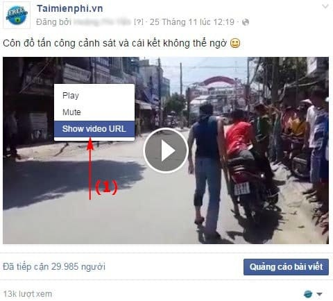 tai video facebook