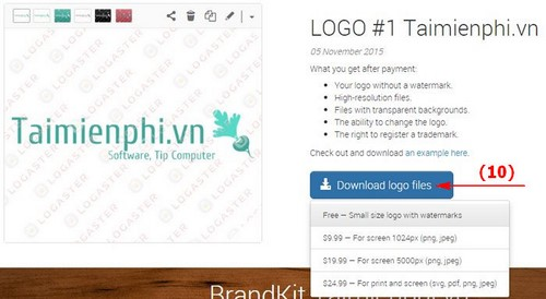 Logaster - Website tạo icon, logo trực tuyến, online chuyên nghiệp