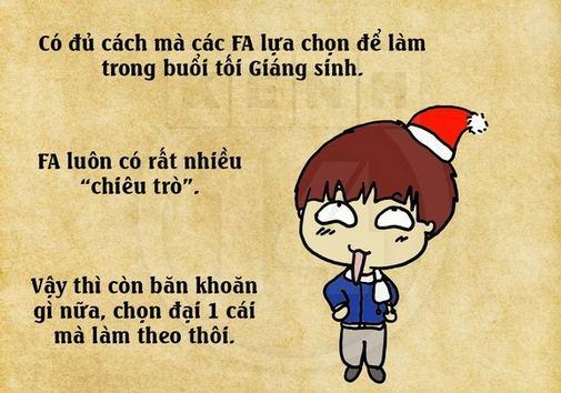 Ảnh chế Noel, cầu mưa Noel hài hước từ cộng đồng F.A