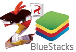 cach choi angry birds 2 tren pc bang bluestacks
