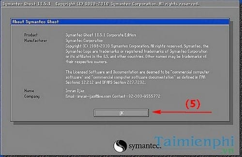 cách ghost windows 7, Ghost Win 7 32bit 64bit bằng USB 5