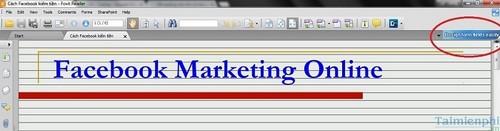 Tắt quảng cáo trong Foxit Reader