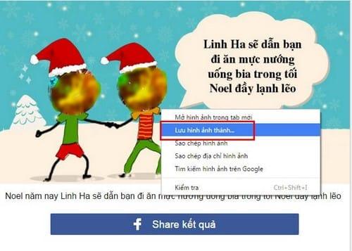 Xem ai rủ bạn đi chơi Noel trên Facebook