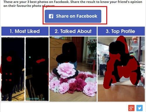Xem ảnh nhiều like, comment nhất của bạn trên Facebook