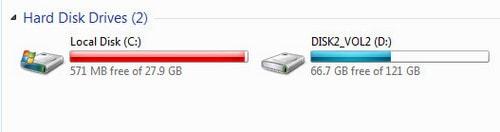 don vi do luong trong may tinh, laptop