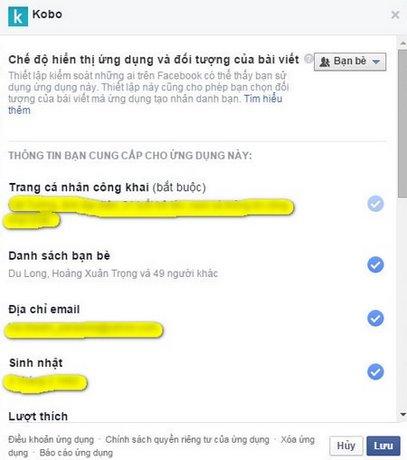 Gõ bỏ app không cần thiết trên Facebook