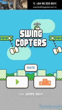 Swing Copters 2 - Cách chơi đạt điểm cao