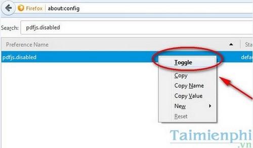 Tắt tính năng tự đọc file PDF trên Firefox và Chrome