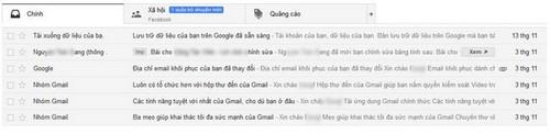 Tìm hiểu giao diện Gmail