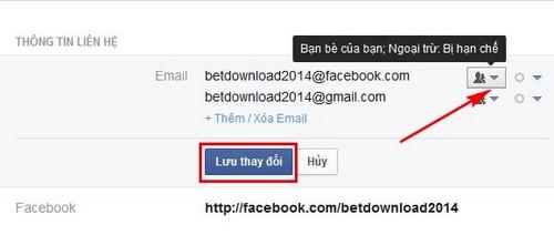 Ẩn thông tin Facebook, giấu năm sinh, số điện thoại, địa chỉ trên Facebook 7
