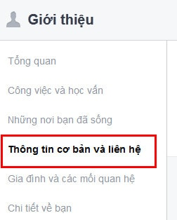 an dia chi facebook