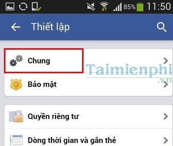 doi mat khau facebook tren dien thoai iOS